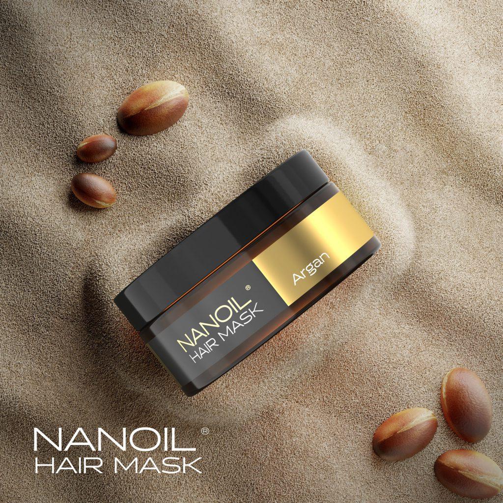 Nanoil - Hair mask with argan oil